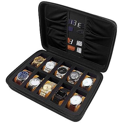 Amazon.com: Comecase - Caja organizadora para relojes y ...