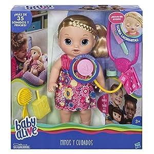 Baby Alive Muñeca mimos y cuidados, Miscelanea Hasbro C0957105