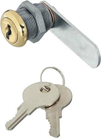 Stanley N239-160 Utility Locks 1//2In Brs