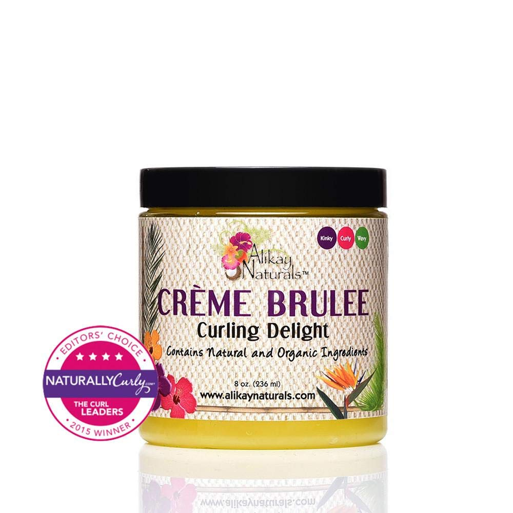 Creme Brulee Curling Delight Alikay Naturals AN137