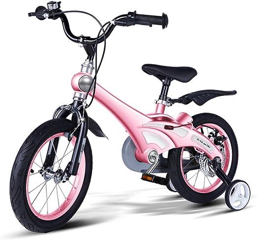 QXMEI Bicicleta Niños Bicicleta Bicicleta 2-4-6 Años Niño Y Niña ...