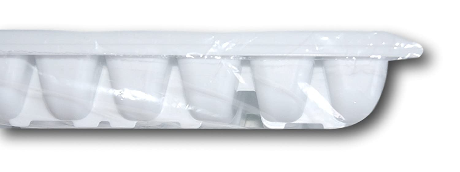 Rubbermaid Easy Release Ice Cube Tray-White-Set of 2 12.5 x 5,