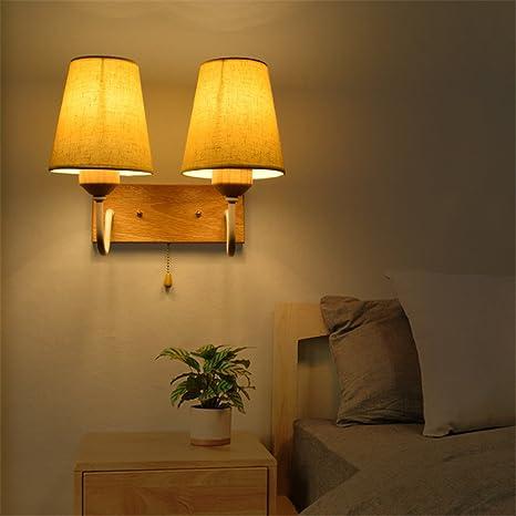 Minimalist Modern Bedroom Bedside Lamp Staircase Balcony Living