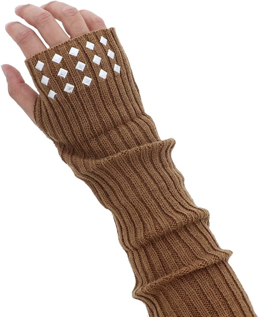 Layered Arm Warmer With...