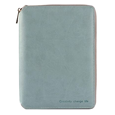 Amazon.com : A5/A6 Classic Zipper Binder Agenda Planner ...