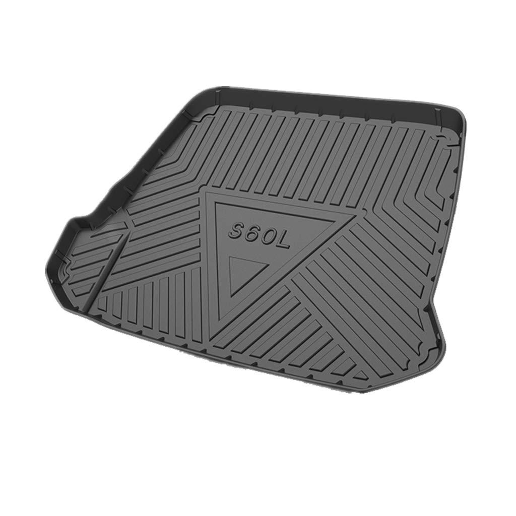 Psler Veh/ículo All Weather Waterproof Protector Pad Estera Trasera del Trazador de L/íneas del Cargo para XC90 2011-2014