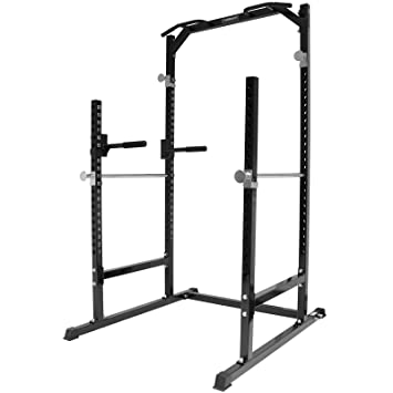 Mirafit Heavy Duty Half Power Cage Squat Rack