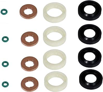 Rondelle Kit Revisione Iniettori Guarnizioni OR Citroen Peugeot
