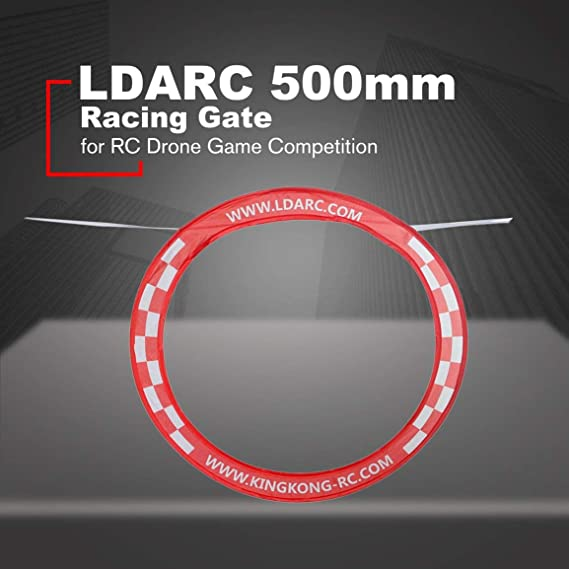 LDARC 500mm Flying Racing Gate Gate para RC Drone Quadcopter Juego ...