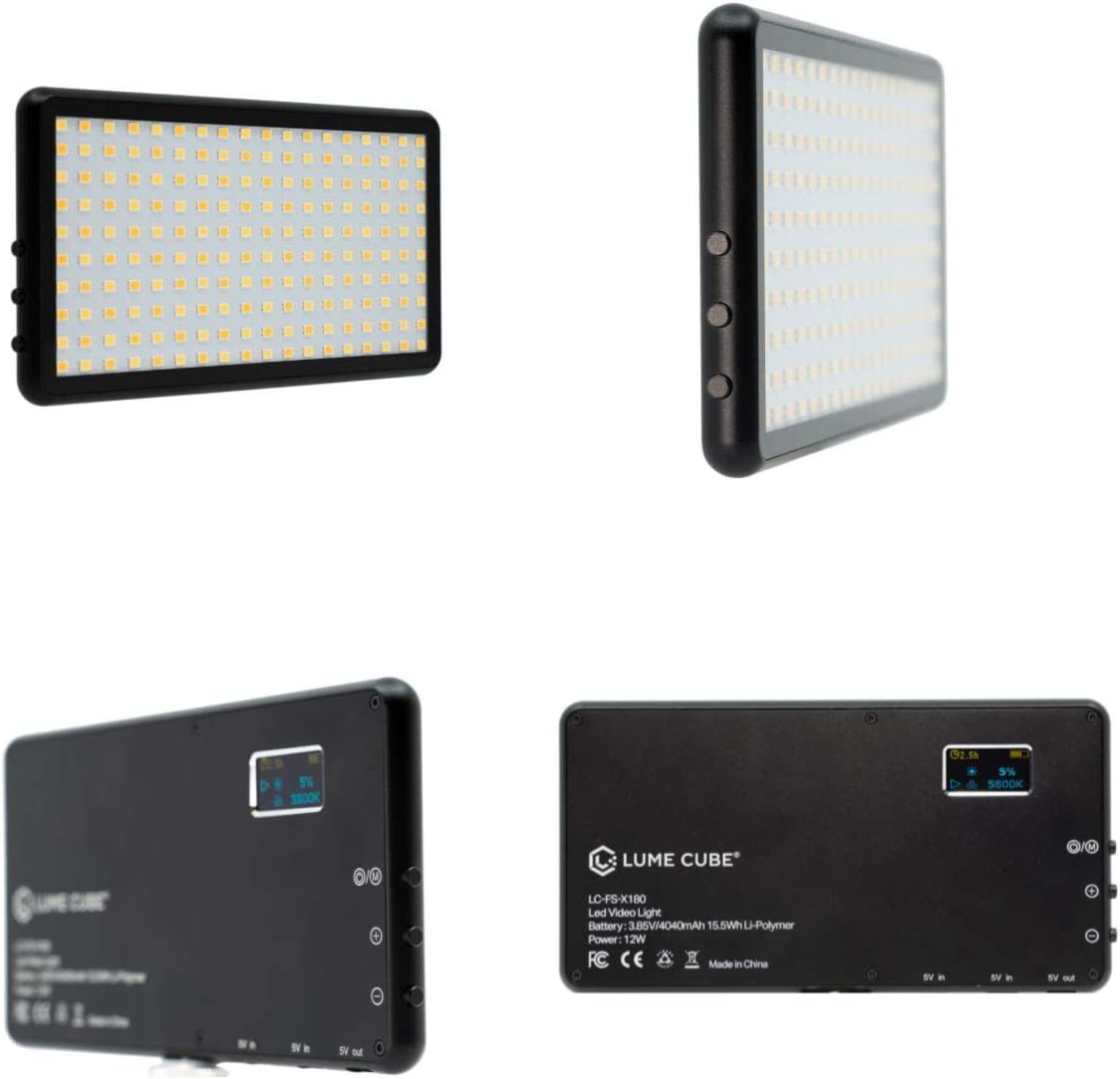 Lume Cube Panel Zweifarbige Led Power Bank Für Foto Kamera
