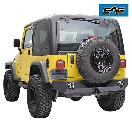 f9a6bda5d0 Amazon.com  EAG Rear Bumper With 2