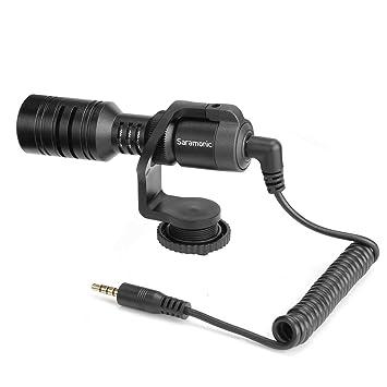 Saramonic Vmic - Micrófono de vídeo para cámara réflex Digital ...