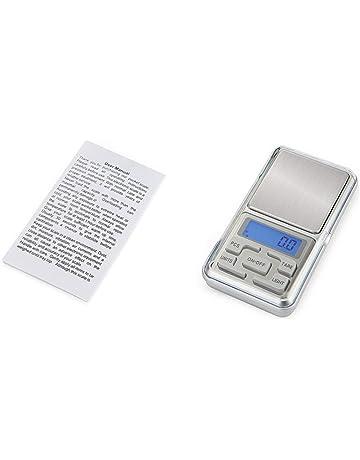 HT-668B 500 g x 0.01 g Mini balanzas digitales de precisión para la escala de