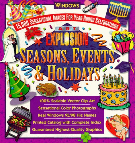 Art Explosion Seasons Events Holidays