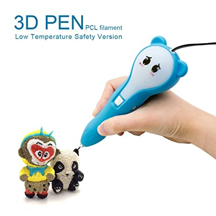 1 Pcl Bolígrafo 3d Niños Y FilamentoPerfecto 75mm ReliveBaja 2x Dibujar En TemperaturaCompatible Con Para Adultos NiñosLápiz XPTkZiOu
