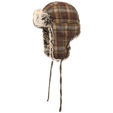 02172ad29d2 Stetson Owasso Woolrich Aviator Hat Lapeer chapka (XXL (62-63 cm) - Brown)   Amazon.co.uk  Clothing