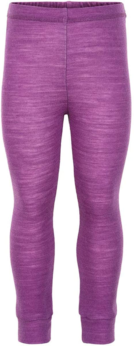 ECO Thermal Boy Girl Kids Wool-Bamboo Long Johns-Underwear-Bottoms 2 Colors, 3-6 Years