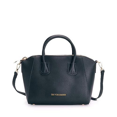 058a0d549e Tru Trussardi Borsa Donna Mod. 76BTB06 Col. 19 Black: Amazon.it: Scarpe e  borse