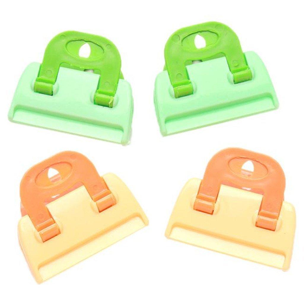 ZWANDP Snack Sweets Food Bags Sealer Colorful Plastic Sealing Bag Clips Sealing Tool (Set of 8)