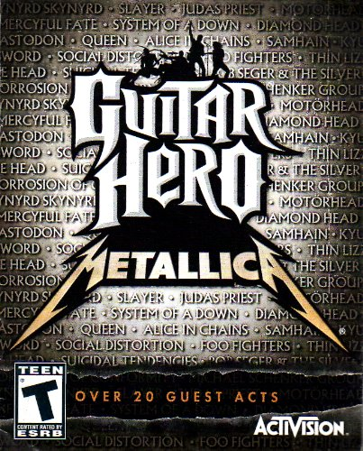 Guitar Hero - Metallica PS3 Instruction Booklet (Sony PlayStation 3 Manual ONLY - NO GAME) [Pamphlet ONLY - NO GAME INCLUDED] Play Station