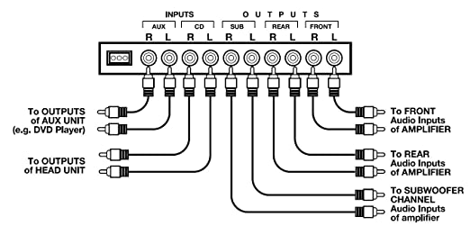 Wiring Diagram For Equalizer
