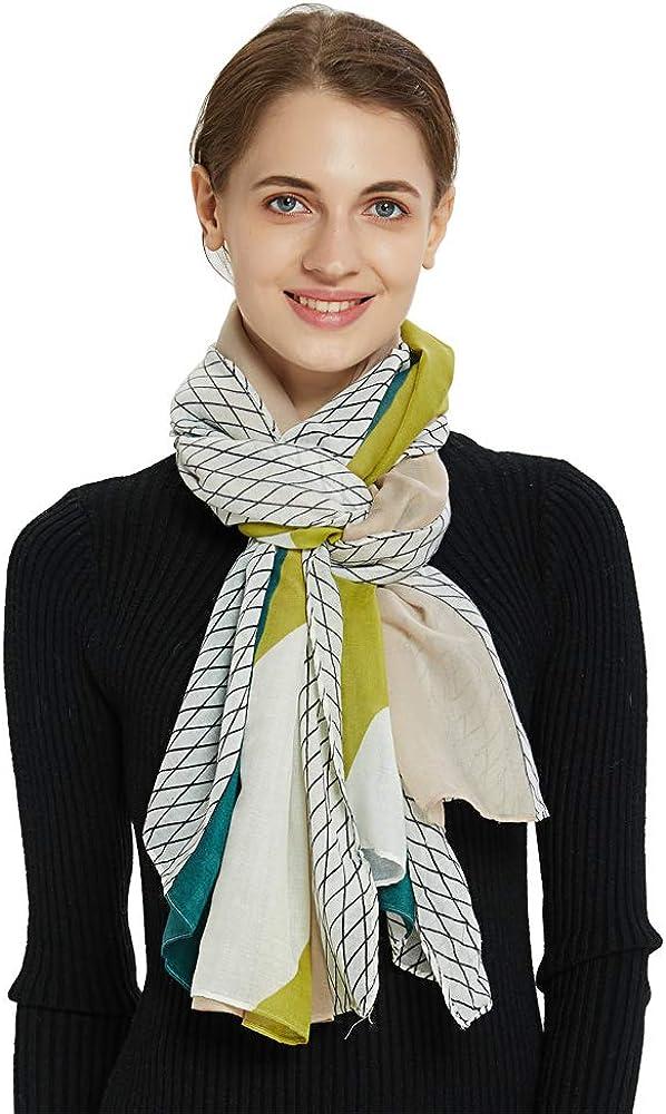 Women Cotton Long Scarf...