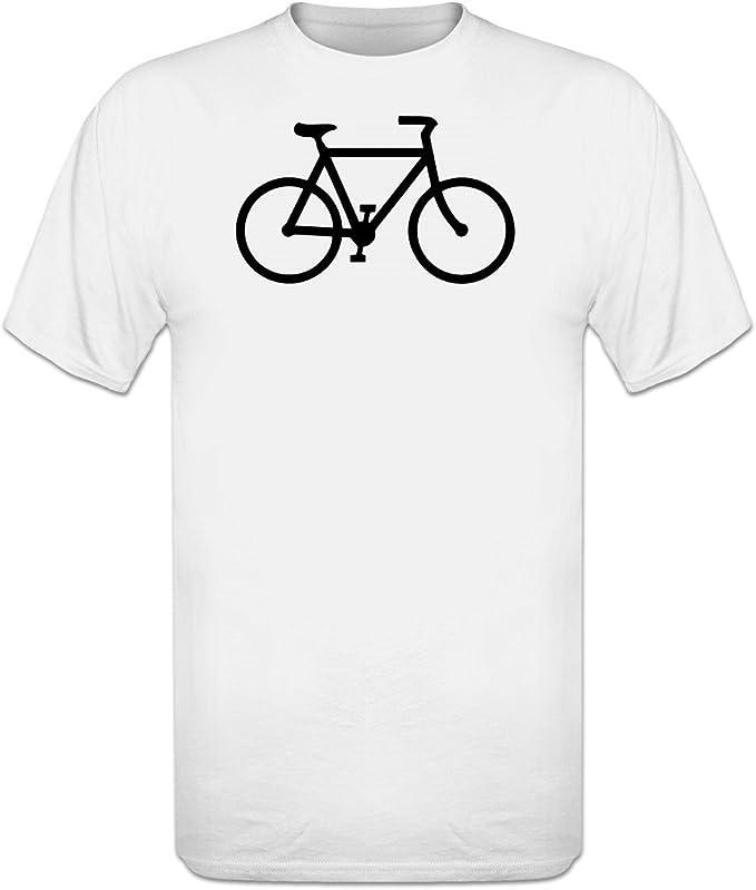 Shirtcity bicicleta Logo camiseta - Blanco -: Amazon.es: Ropa y ...