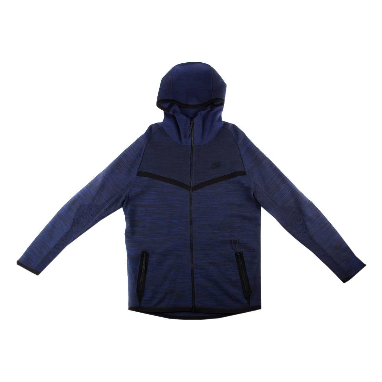 Amazon.com  Nike Men s Tech Knit Windrunner Jacket Deep Royal Blue Obsidian  Medium  Sports   Outdoors 5f9cc889e
