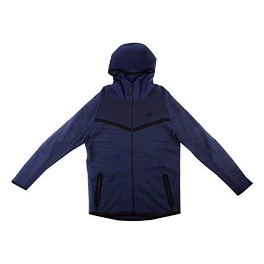 712d4233c9 Amazon.com  Nike Men s Tech Knit Windrunner Jacket Deep Royal Blue ...