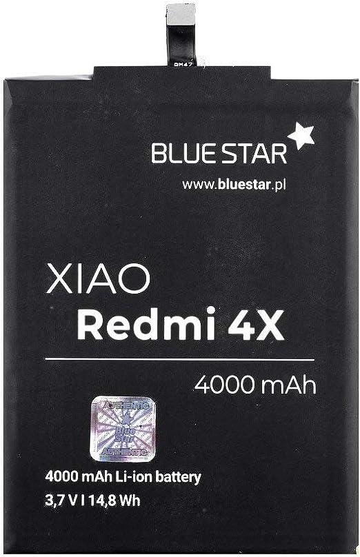 Blue Star Premium - Batería de Li-Ion litio 4000 mAh de Capacidad ...