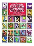 Fun with Alphabet Stickers, Anna Pomaska, 0486248054