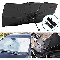 SUNACCL Car Windshield Sun Shade Umbrella, Foldable Car Sun Umbrella for Windshield Sun Protection Umbrella Front…