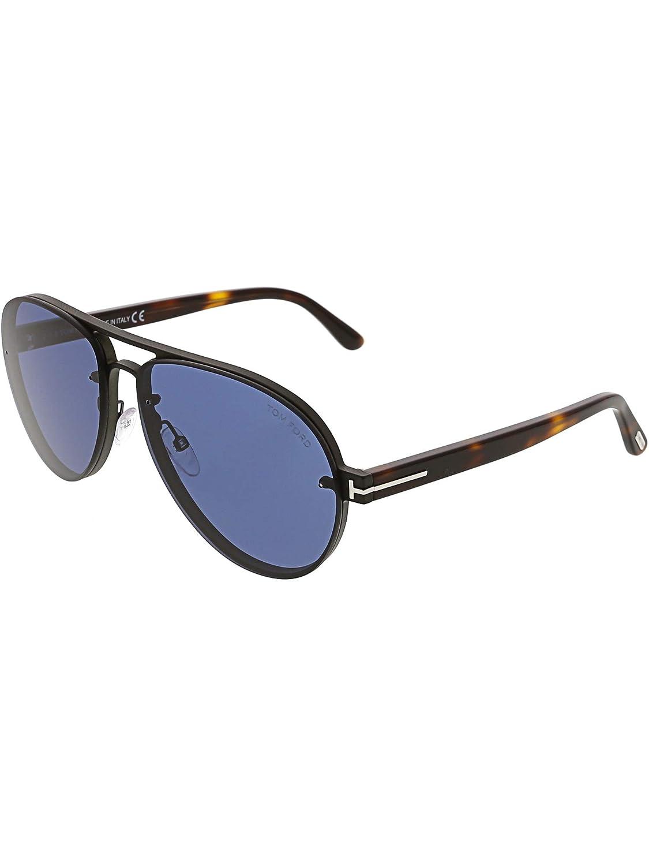 Sunglasses Tom Ford FT 0622 Alexei- 02 12V shiny dark ruthenium/blue