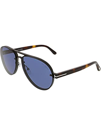 467e16b213 Image Unavailable. Image not available for. Color  Sunglasses Tom Ford FT  0622 Alexei- 02 12V shiny dark ruthenium blue