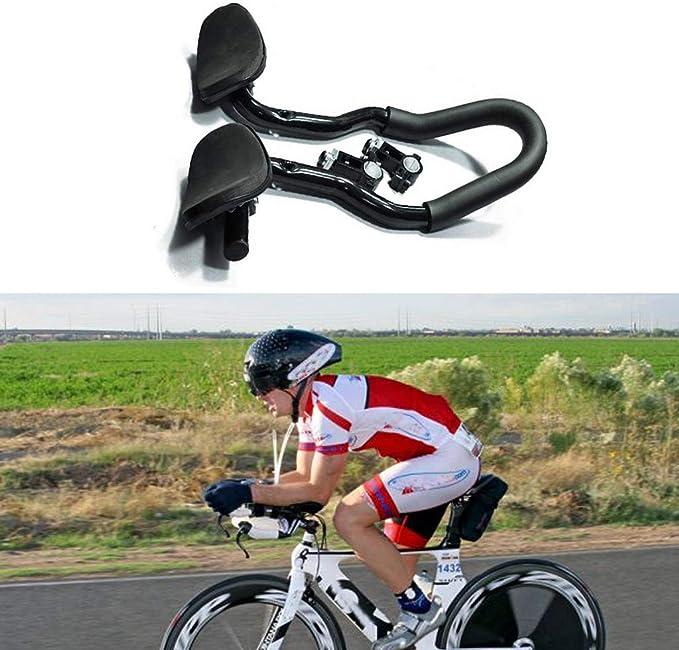 prolongateur Triathlon Montagne Triathlon sur Guidons TT Repose Bras pour Cycliste Cyclisme avec Accessoires CUEYU Guidon V/élo Repose