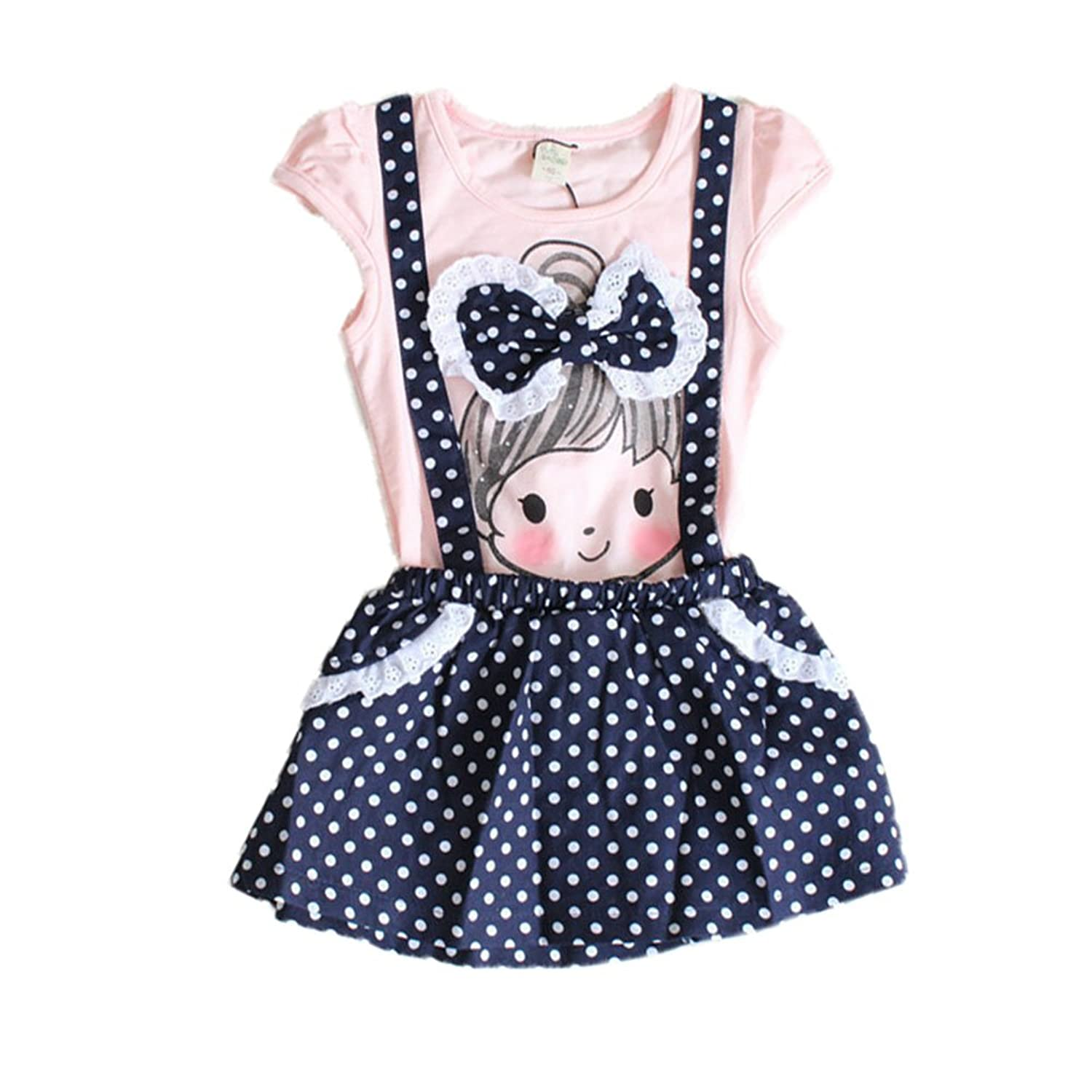 Amazon Baby Girls Kids Polka Dot e pieces Dress Skirt Summer
