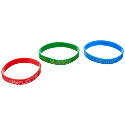 amscan PJ Masks Rubber Bracelets, Party Favor: Toys & Games