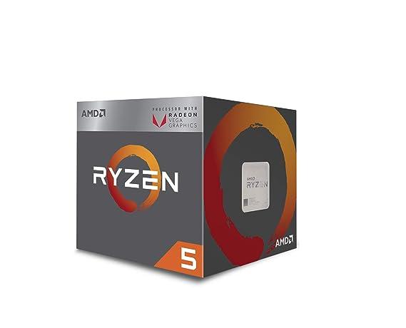 AMD Ryzen 5 2400G Processor with Radeon RX Vega 11 Graphics - YD2400C5FBBOX