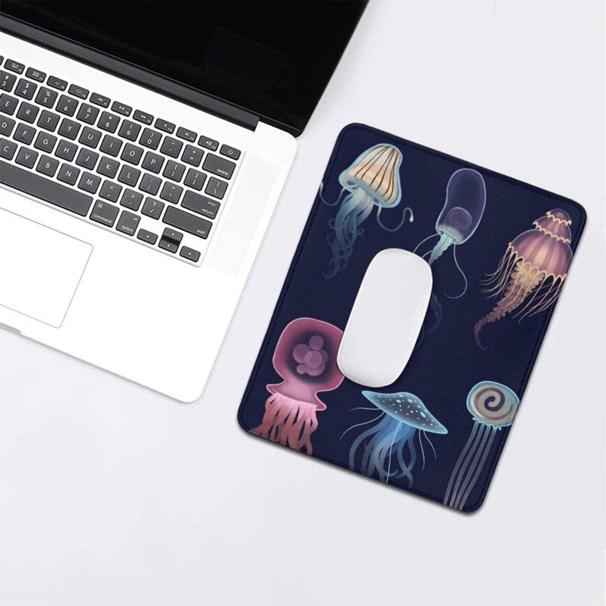 3mm Thick Universe Galaxy Rectangle Rubber Mousepad Gaming Mouse Pad Mouse Mat for Gift Support Wired Wireless Or Bluetooth Mouse 10 X 12 Inch X 0.12