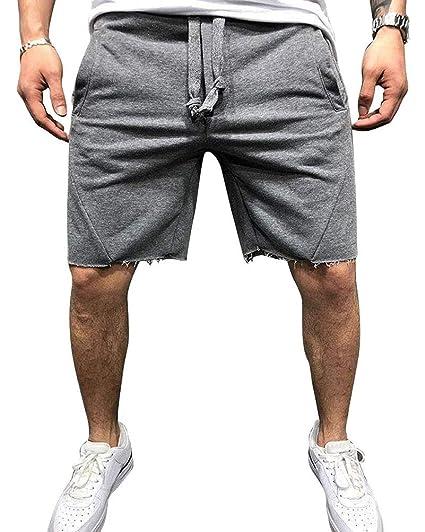 OZONEE Herren Shorts Sport Sportshorts Sweatshorts Kurze Hose J.Style AA10