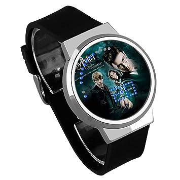 CLXYA Harry Potter Reloj electrónico Dibujos Animados LED Vidrio Reloj electronico Vida Impermeable Reloj--Dale a tu Hijo, 007: Amazon.es: Deportes y aire ...