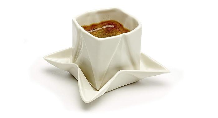 Origami Design Espressotasse modern