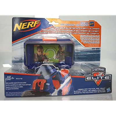 Nerf N-Strike Elite Battle App Tactical Rail Mount Accessory: Toys & Games