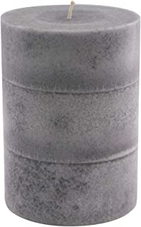 product image for Wicks N More Cascade Gray Pillar Candles (3x4)