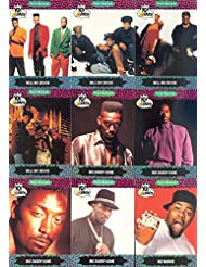 YO! MTV RAPS SERIES 1 & 2 1991 PRO SET COMPLETE BASE CARD SET OF 150 L.L. COOL J