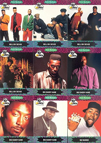 YO! MTV RAPS SERIES 1 1991 PRO SET COMPLETE BASE CARD SET OF ()
