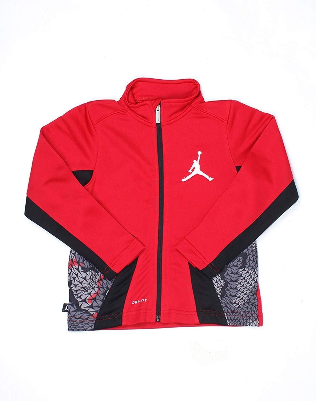Boys Jordan Stay Cool Jacket (Medium, Red)