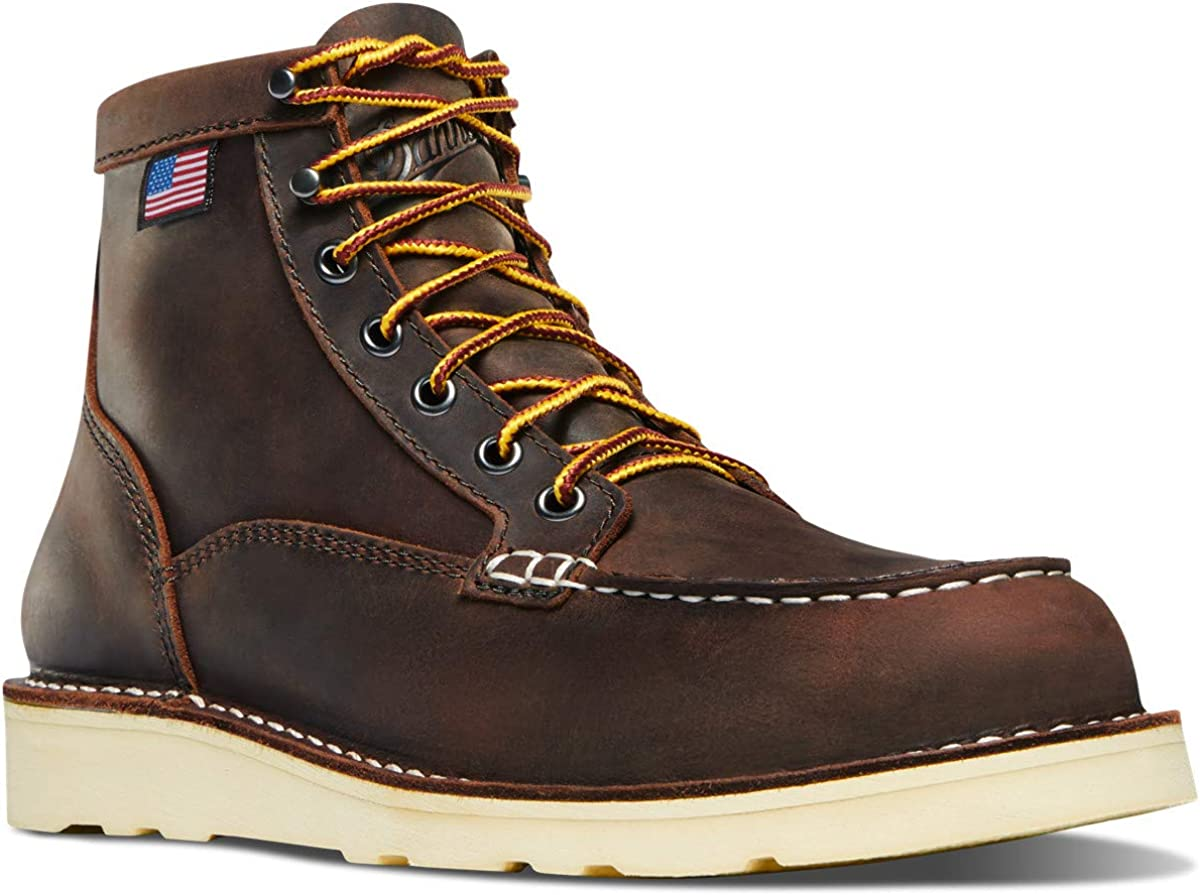 "Danner Women's Bull Run Moc Toe 6"" Work Boot"