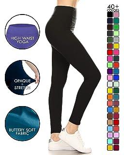 5e633cceec20b Leggings Depot High Waisted Leggings -Soft & Slim - 37+ Colors & 1000+