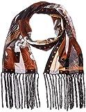 Laurel Burch LBS-136 Authentic Silk Art Scarf, Moroccan Mares